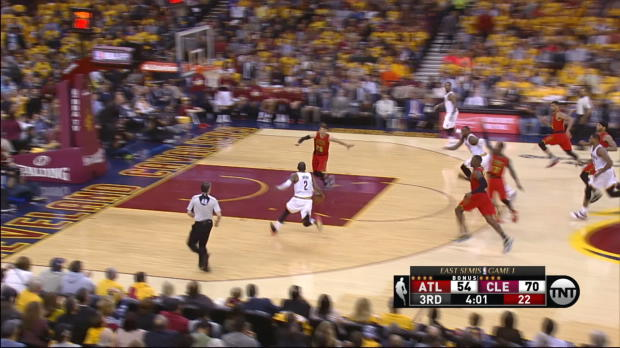 Fast Break of the Night: LeBron James