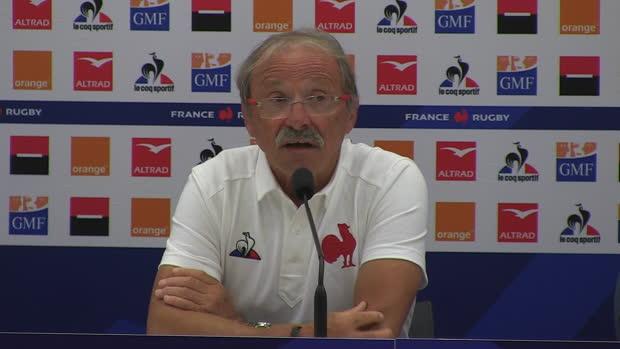 """Rugby : XV de France - Brunel - """"C'est une bonne base"""""""
