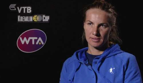 Kuznetsova Interview: WTA Moscow SF