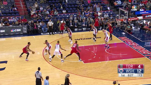 WSC: DeMar DeRozan 34 points vs. wizards