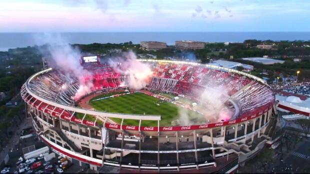 Copa Libertadores: River brennt Feuerwerk ab