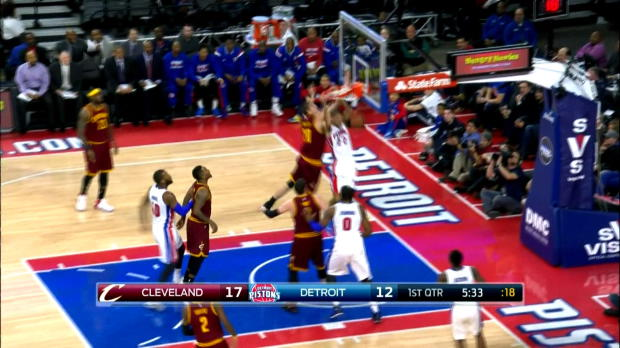 Basket : NBA - Pistons - Prince, le roi des airs