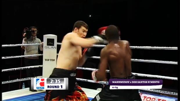 Brutaler Knockout in der ersten Runde