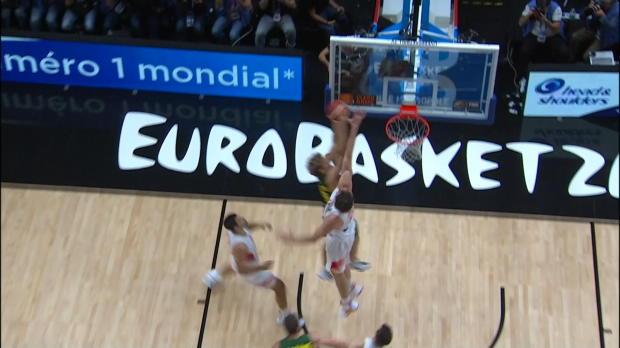 Spain v Lithuania - Best Dunk - FIBA EuroBasket 2015