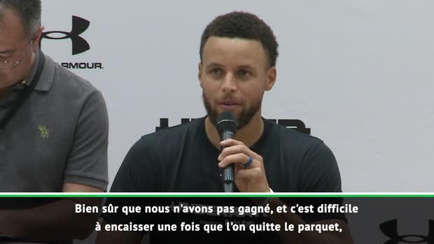 """Basket : NBA - Pour Curry, ce n'est """"pas la fin"""" d'une ère chez les Warriors"""