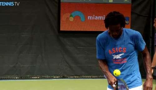 Monfils Feature: ATP Miami