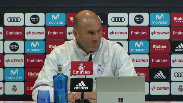 Morata und Isco lassen Zidane schmunzeln