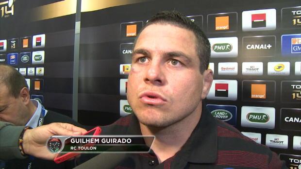 Top 14 - Demies : Guirado : 'Montpellier, c'�tait du costaud'