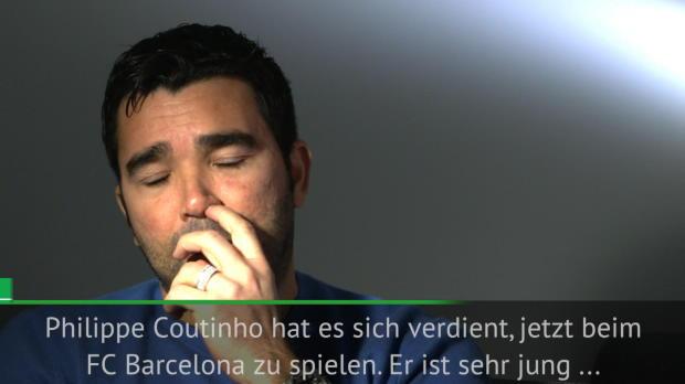 Deco: Coutinho hat sich Barca-Wechsel verdient