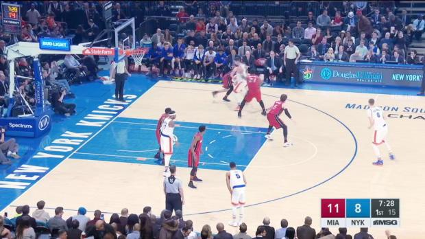 GAME RECAP: Heat 105, Knicks 88