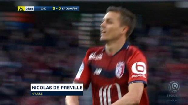 كرة قدم: الدوري الفرنسي: ليل 3-0 غانغان