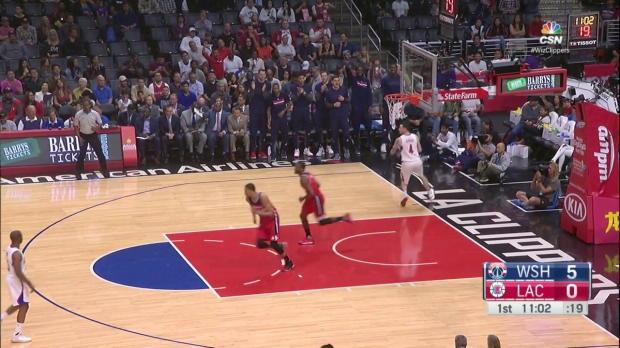 WSC: John Wall mit 41 Punkten gegen die Clippers