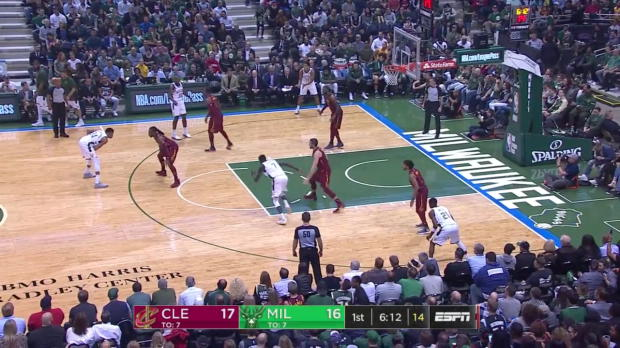 WSC: Giannis Antetokounmpo 34 Punkte vs the Cavaliers