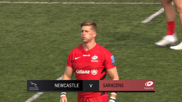Aviva Premiership : Aviva Premiership - Match Highlights - Newcastle Falcons v Saracens