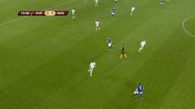 L.Europa : Everton 4-1 Wolfsbourg