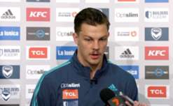 Melbourne Victory defender James Donachie discusses how competition for a starting spot is spurring him on this season.