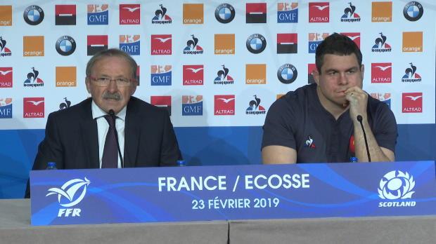 XV de France - Brunel - 'Ntamack a bien animé l'équipe'