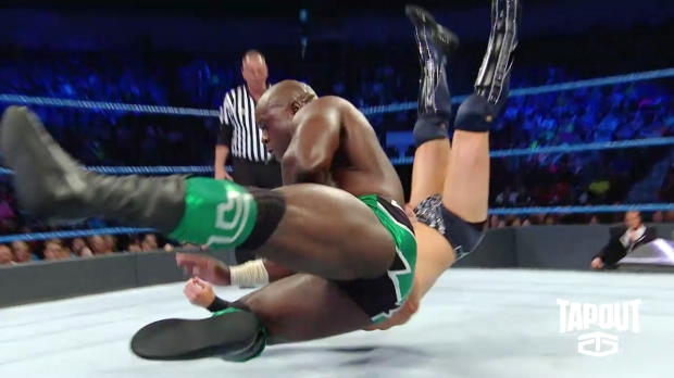 """Apollo Crews gets competition ready: """"Pre-Match Moments,"""" powered by Tapout"""