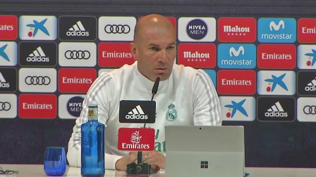 """Zidane: """"Bale und Benzema sind nicht traurig"""""""