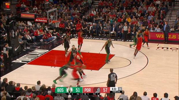 GAME RECAP: Celtics 105, Blazers 100