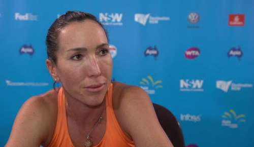 Jankovic Interview: WTA Sydney 1R