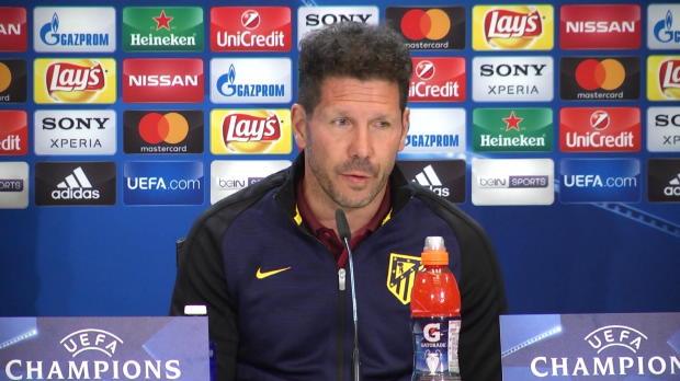 """Simeone überzeugt: """"Machen ein großes Spiel"""""""