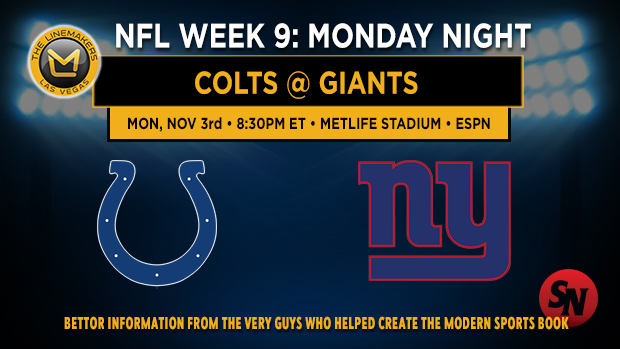 Indianapolis Colts @ New York Giants
