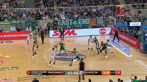 Basket : Euroligue (19e j.) - Le superbe panier à 3 points au buzzer de Nando de Colo
