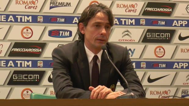 Malgré le bon nul réalisé par ces hommes face au prétendant au titre la Roma (0-0), l'entraîneur du Milan AC Filippo Inzaghi veut exorter son équipe à toujours chercher plus.