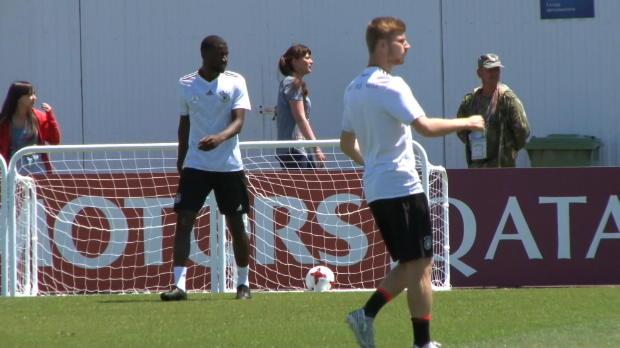 """Confed Cup: Stindl lobt Werner: """"Sehr gut!"""""""