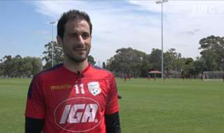 Adelaide United forward, Sergio Cirio, updates Reds fans on his injury and looks ahead to the boys' clash with Wellington Phoenix!