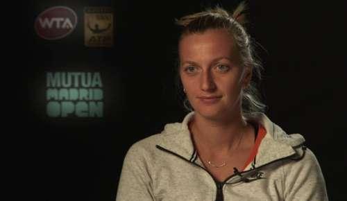 Kvitova Interview: WTA Madrid 2R