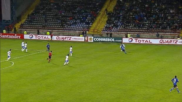 Les joueurs de Huachipato ont été plus maladroits les uns que les autres lors d'une seule et même action face à San Jose en Copa Sudamericana. Heureusement pour eux, ils l'ont quand même emporté 3-1.