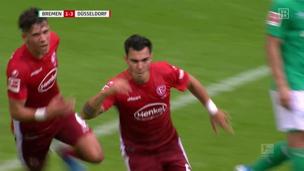 Bundesliga: SV Werder Bremen - Fortuna Düsseldorf   DAZN Highlights