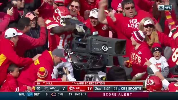 Vom Touchdown zum Kameramann   NFL Viral