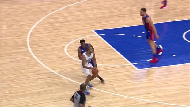 WSC: Tony Parker 24 points vs the Pistons