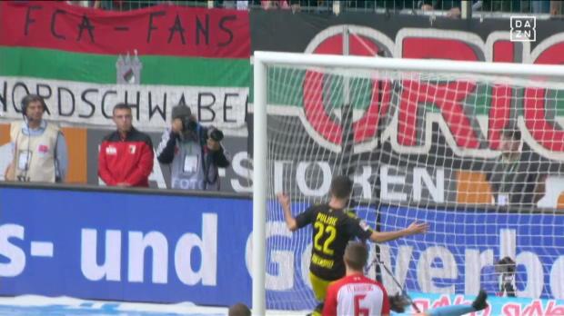 FC Augsburg - Borussia Dortmund lang