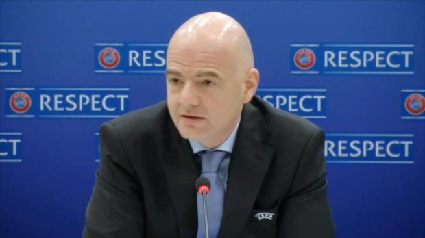 """UEFA: WM 2018: """"Mehr Startplätze für Europa"""""""