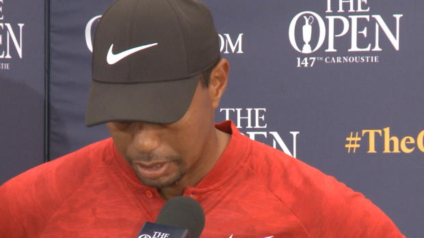 "The Open: Besiegter Woods: ""Alles gegeben"""