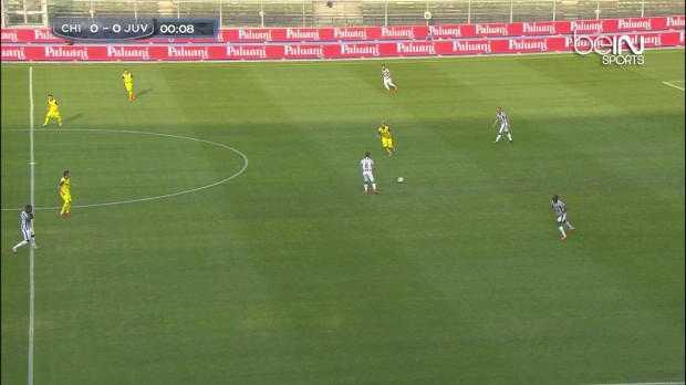 Serie A : Chievo 0-1 Juventus