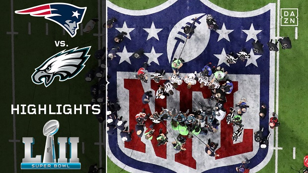 Super Bowl LII: Eagles @ Patriots - Die Highlights
