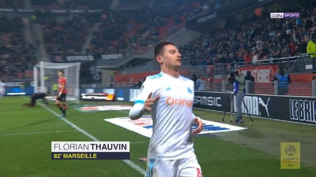 Thauvin-Show bei Marseille-Sieg in Rennes