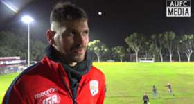 Ersan Gülüm shares his thoughts after making his pre-season debut against Campbelltown City.