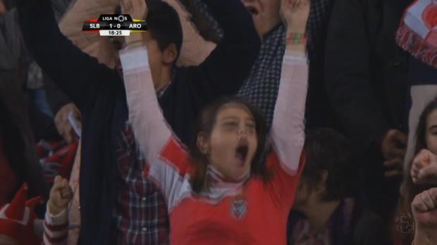 Mitroglus Hacken-Hammer verzaubert Benfica