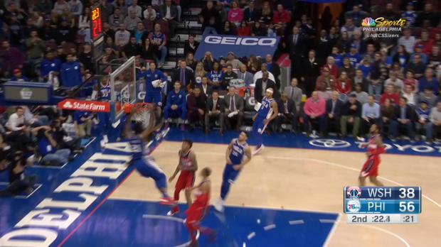 Block of the Night: Joel Embiid