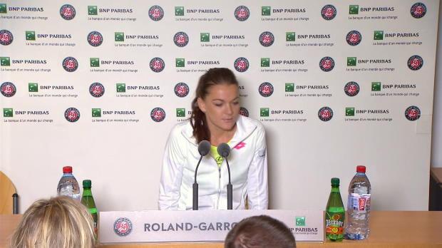 """French Open: Radwanska: """"Das ist der Schlüssel"""""""