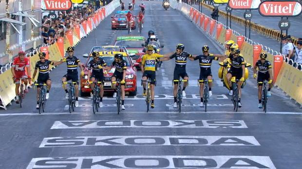 TdF: Greipels finaler Sieg bei Froome-Triumph