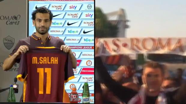 Roms neue Waffen: Dzeko und Salah angekommen