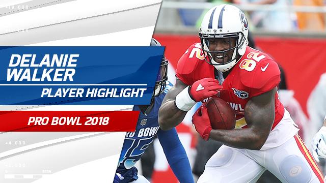 19150080518 Video: Delanie Walker highlights   Pro Bowl 2018