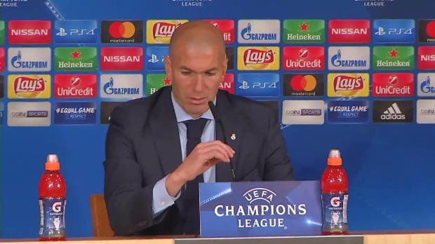 """PSG? Zidane: """"Die Auslosung kommt erst noch"""""""